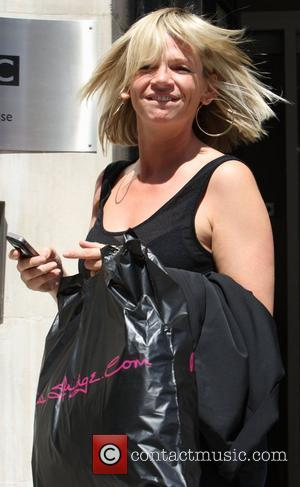 Zoe Ball leaves Radio 2 studios  London, England - 01.07.09