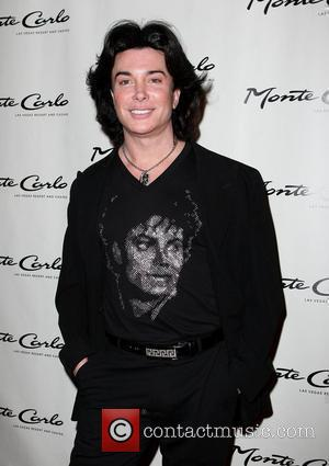 Frank Marino Opening party for the 'Zowie Bowie' vintage Vegas show held at The Monte Carlo Resort Hotel Casino Las...