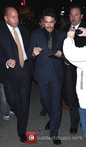 James Franco The New York premiere of '127 Hours' held at Chelsea Clearview Cinema - Outside Arrivals New York City,...