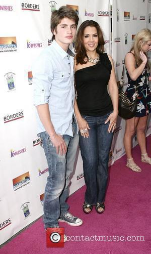 Gregg Sulkin and Maria Canals-Barrera Disney Channel's Premiere of '16 Wishes' at Harmony Gold Theater. Los Angeles, California, USA -...