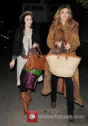 Kate Fleetwood and Natascha McElhone (right),  The 24 Hour Plays Celebrity Gala 2010 in aid of Old Vic New...