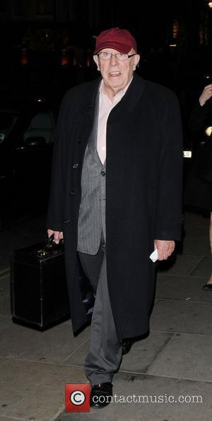 Richard Wilson,  The 24 Hour Plays Celebrity Gala 2010 in aid of Old Vic New Voices at Asia de...