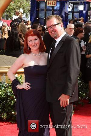 Kate Flannery and Chris Haston ,  62nd Primetime Emmy Awards (The Emmys) held at the Nokia Theatre - Arrivals...