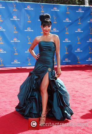 Naya Rivera The 62nd Annual Primetime Emmy Awards held at the Nokia Theatre L.A. Live Los Angeles, California - 29.08.10