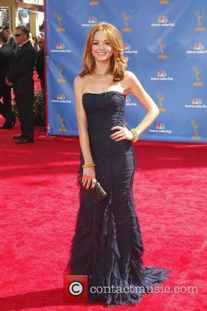 Jayma Mays  The 62nd Annual Primetime Emmy Awards held at the Nokia Theatre L.A. Live Los Angeles, California -...
