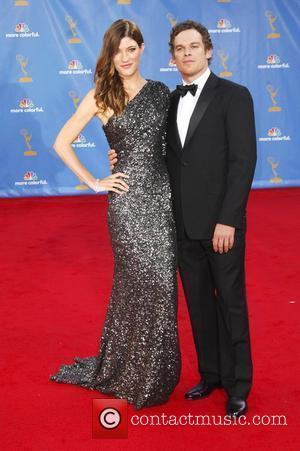 Jennifer Carpenter and Michael C. Hall  The 62nd Annual Primetime Emmy Awards held at the Nokia Theatre L.A. Live...