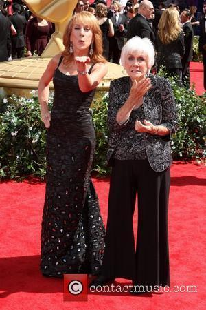 Kathy Griffin and Maggie Griffin,  arrive at the 62nd Annual Primetime Emmy Awards held at the Nokia Theatre L.A....