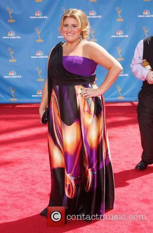 Kaycee Stroh arrives at the 62nd Annual Primetime Emmy Awards held at the Nokia Theatre L.A. Live Los Angeles, California...