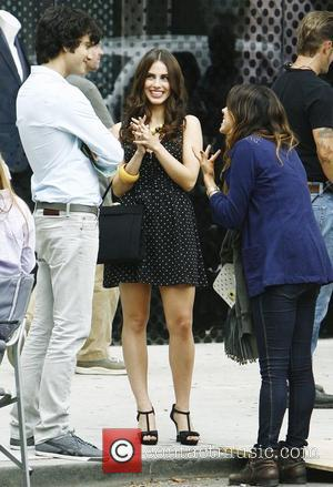 Jessica Lowndes and Michael Steger