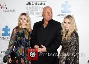 Ashley Olsen, Steve Madden and Mary-kate Olsen