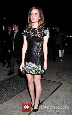 Emma Watson the London BFC's show Rooms New York cocktail party at Pulino New York City, USA - 25.03.10
