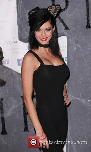 Jessica Jane Clement The Bloodlust Ball 2010 at Hampton Court House London, England - 30.10.10