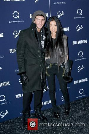 Evan Lysacek and Vera Wang