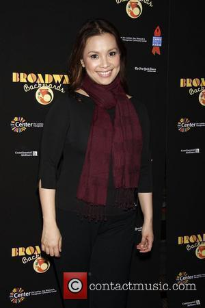 Lea Salonga Post show photo call for 'Broadway Backwards 5' to benefit Broadway Cares/Equity Fights Aids and The Center held...