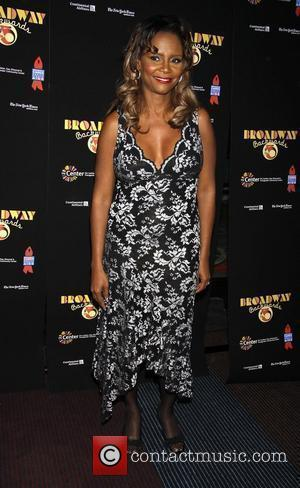 Tonya Pinkins Post show photo call for 'Broadway Backwards 5' to benefit Broadway Cares/Equity Fights Aids and The Center held...