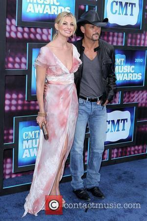 Tim McGraw and Faith Hill  2010 CMT Music Awards Blue Carpet Arrivals at The BridgeStone Arena Nashville, TN -...