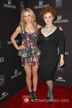 Anna Paquin and Audrey Fisher  12th Annual Costume Designers Guild Awards - Arrivals at the Beverly Hilton hotel Beverly...