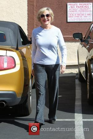Florence Henderson   outside the dance rehearsal studio for ABC-TV's 'Dancing with the Stars'   Los Angeles, California...