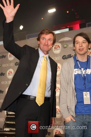 Wayne Gretzky the Gillette - EA SPORTS Champions of Gaming Global Finals at ARENA Event Space New York City, USA...