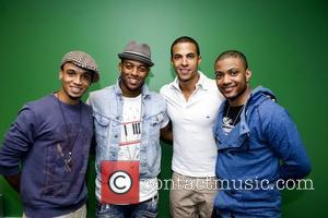 JLS, Aston Merrygold, Oritse Williams, Marvin Humes and JB Gill