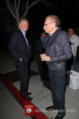 Jon Voight and Larry King