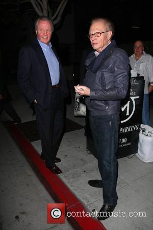Jon Voight, Larry King