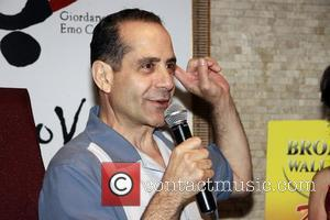 Tony Shalhoub Lend Me a Tenor' portrait unveiling at Tony's di Napoli Times Square Restaurant.  New York City, USA...