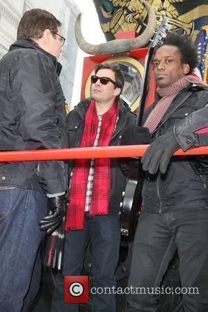 Jimmy Fallon and the Roots  84th Macy's Thanksgiving Day Parade in New York City New York, USA - 25.11.10