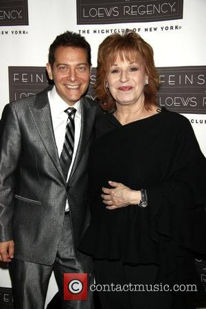 Michael Feinstein and Joy Behar