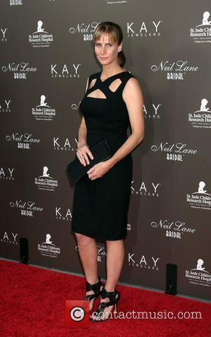 Rachel Griffiths arrives at the Neil Lane Bridal Collection Debut at Drai's  at The W Hollywood Rooftop Los Angeles,...