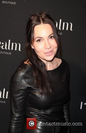 Fabiola Beracasa attends the opeing of the new Realm Boutique in Soho New York City, USA - 04.11.10