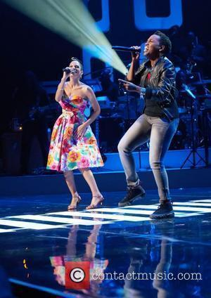 Goapele, Dionne Farris  Soul Train Awards held at the Cobb Energy Performing Arts Center - Show Atlanta, Georga -...