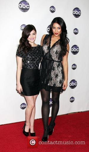 Lucy Hale, Shay Mitchell The Disney ABC Television Group's TCA Winter 2011 Press Tour Party at Langham Huntington Hotel Pasadena,...