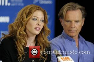 Rachelle Lefevre and Bruce Greenwood The 35th Toronto International Film Festival -  'Barney's Version' - press conference held at...