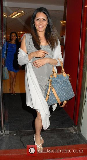 Laila Rouass  leaving a VIP preview evening at the new flagship TK Maxx store on Charing Cross Road. It...