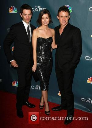 James Frain, Summer Glau, David Lyons Premiere Party for The Cape Held At The Music Box Theatre Hollywood, California -...