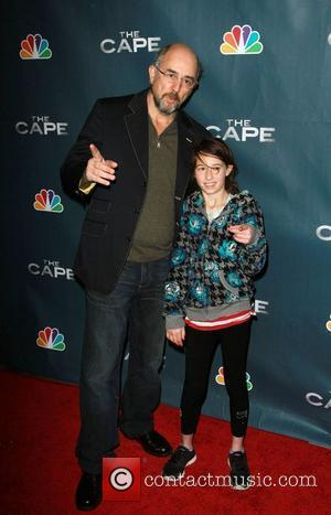 Richard Schiff and daughter Ruby Schiff Premiere Party for The Cape Held At The Music Box Theatre Hollywood, California -...