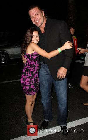 Ariel Winter and Wwe Superstar Triple H