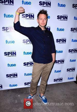 Mark Hoppus FUSE's 'A Different Spin With Mark Hoppus' launch party held at MPD Restaurant New York City, USA -...