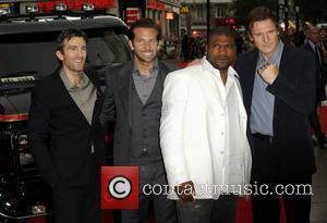 Quinton Jackson, A-team, Bradley Cooper, Liam Neeson and Sharlto Copley
