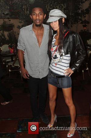 Bai Ling and Shwayze