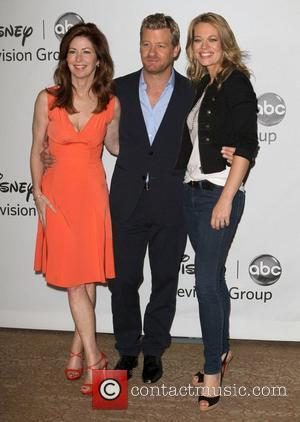 'Body Of Proof' Cast Disney ABC Family 2010 Summer TCA Tour held at The Beverly Hilton Hotel Beverly Hills, USA...