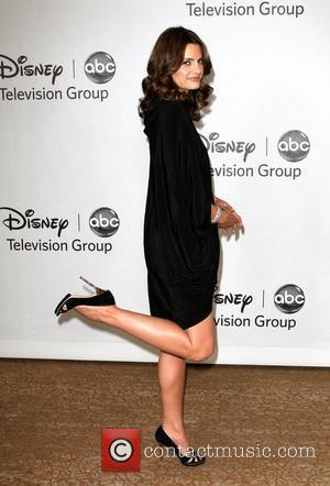 Stana Katic Disney ABC Family 2010 Summer TCA Tour held at The Beverly Hilton Hotel - Evening Beverly Hills, California...