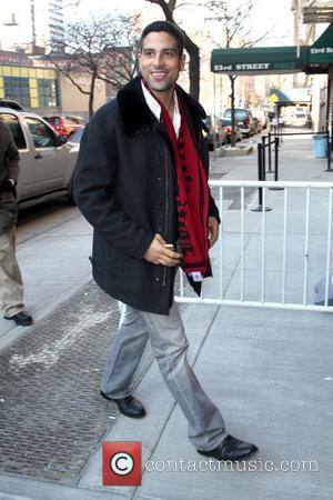 Adam Rodriguez outside Fox studios for 'The Wendy Williams Show' New York City, USA - 14.01.10
