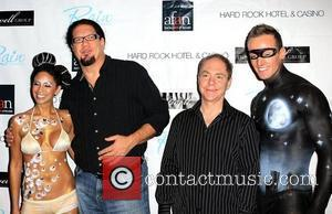 Penn Jillette, Teller of Penn & Teller and guests AFAN's 24th Annual Black & White Party at The Joint inside...