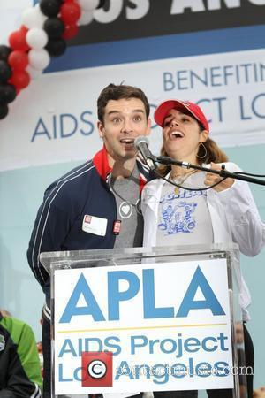 Ana Ortiz and Michael Urie