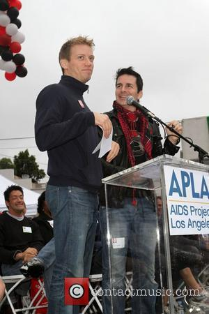 Barrett Foa, Hal Sparks 26th Annual AIDS Walk Los Angeles - Opening Ceremony - Held at The West Hollywood Park...