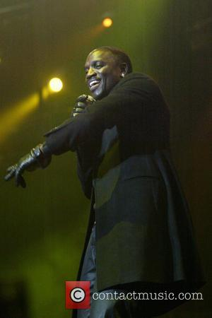 Akon performing live in concert as part of SupaFest 2010 held at the Acer Arena Sydney, Australia - 15.04.10