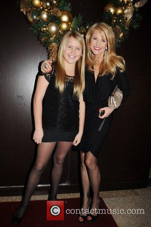 Christie Brinkley and her daughter Sailor Cook Alexa Ray Joel performs at the Plaza Hotel's famed Oak Room New York...