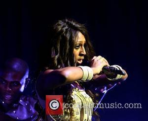 Singer Alexandra Burke performing at the Grand Canal Theatre. Dublin, Ireland - 17.01.11